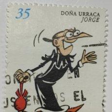 Sellos: SELLO ESPAÑA, CÓMICS, DOÑA URRACA, 1999. Lote 206553716