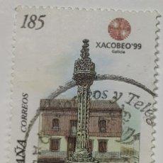 Sellos: SELLO ESPAÑA, XACOBEO, ROLLO JURISDICCIONAL, 1999. Lote 206553945