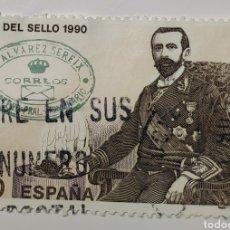 Sellos: SELLO ESPAÑA, DÍA DEL SELLO, 1990. Lote 206584222