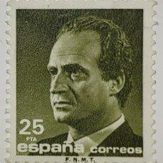Sellos: SELLO ESPAÑA, JUAN CARLOS I, SERIE BÁSICA, 25 PTS. Lote 206584521