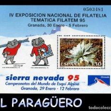 Sellos: HOJA DE UN VALOR AÑO 1995 ORIGINAL ( EXPOSICION NACIONAL TEMATICA - GRANADA ) Nº0503481. Lote 206825566