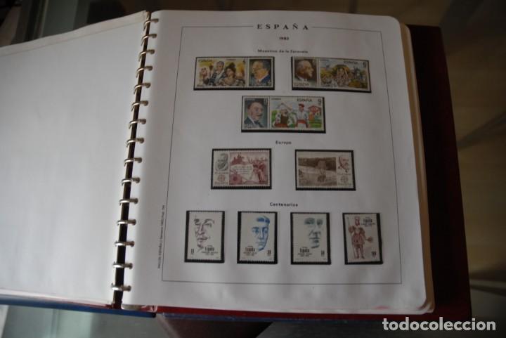 Sellos: ALBUM COLECCIÓN SELLOS ESPAÑA AÑOS 1983-1991. Hojas Philos. Nuevos. Completa. Ver fotos. - Foto 3 - 206839080