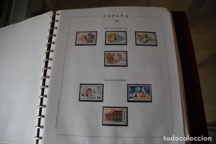 Sellos: ALBUM COLECCIÓN SELLOS ESPAÑA AÑOS 1983-1991. Hojas Philos. Nuevos. Completa. Ver fotos. - Foto 4 - 206839080