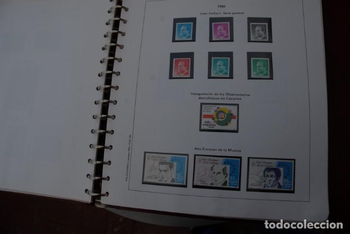 Sellos: ALBUM COLECCIÓN SELLOS ESPAÑA AÑOS 1983-1991. Hojas Philos. Nuevos. Completa. Ver fotos. - Foto 9 - 206839080