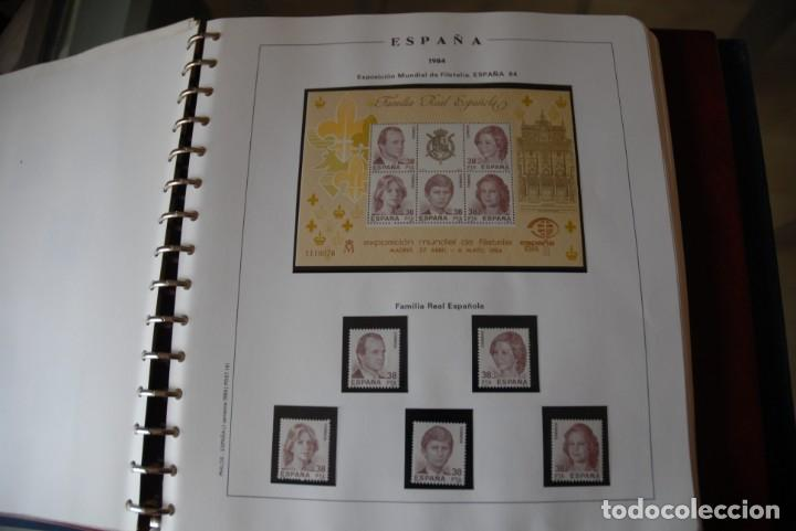 Sellos: ALBUM COLECCIÓN SELLOS ESPAÑA AÑOS 1983-1991. Hojas Philos. Nuevos. Completa. Ver fotos. - Foto 13 - 206839080
