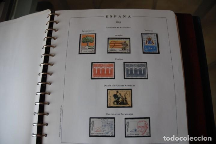 Sellos: ALBUM COLECCIÓN SELLOS ESPAÑA AÑOS 1983-1991. Hojas Philos. Nuevos. Completa. Ver fotos. - Foto 14 - 206839080