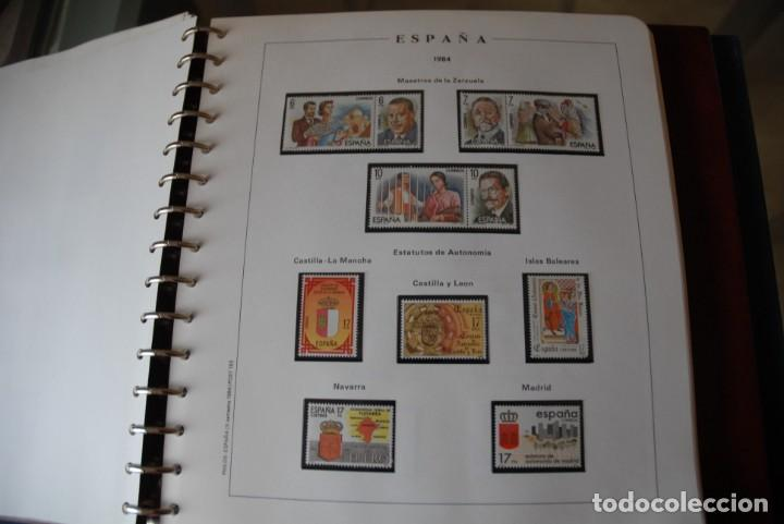 Sellos: ALBUM COLECCIÓN SELLOS ESPAÑA AÑOS 1983-1991. Hojas Philos. Nuevos. Completa. Ver fotos. - Foto 15 - 206839080
