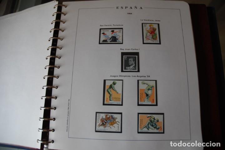 Sellos: ALBUM COLECCIÓN SELLOS ESPAÑA AÑOS 1983-1991. Hojas Philos. Nuevos. Completa. Ver fotos. - Foto 16 - 206839080
