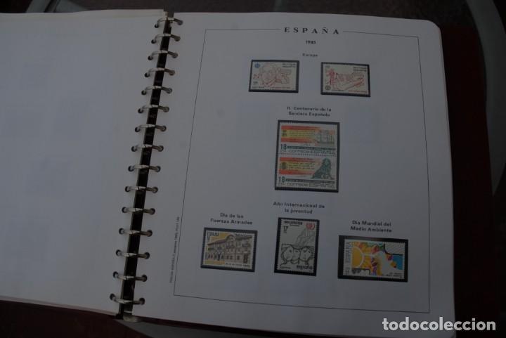 Sellos: ALBUM COLECCIÓN SELLOS ESPAÑA AÑOS 1983-1991. Hojas Philos. Nuevos. Completa. Ver fotos. - Foto 20 - 206839080