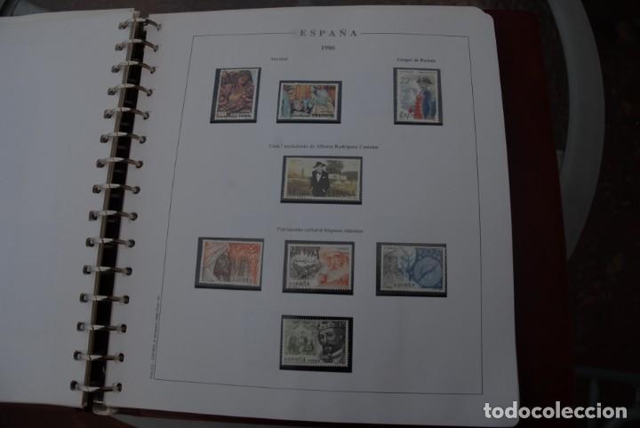 Sellos: ALBUM COLECCIÓN SELLOS ESPAÑA AÑOS 1983-1991. Hojas Philos. Nuevos. Completa. Ver fotos. - Foto 21 - 206839080