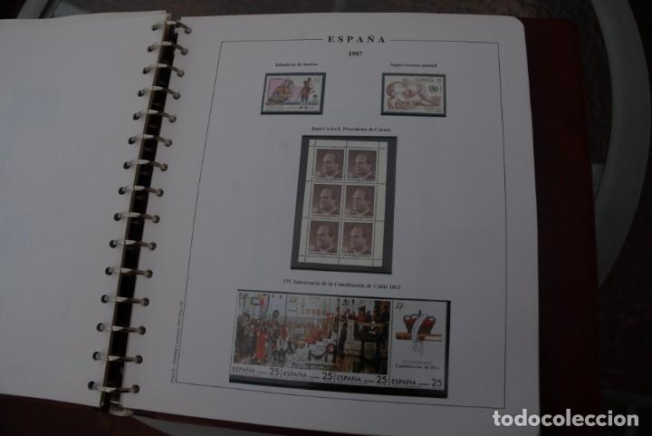 Sellos: ALBUM COLECCIÓN SELLOS ESPAÑA AÑOS 1983-1991. Hojas Philos. Nuevos. Completa. Ver fotos. - Foto 23 - 206839080