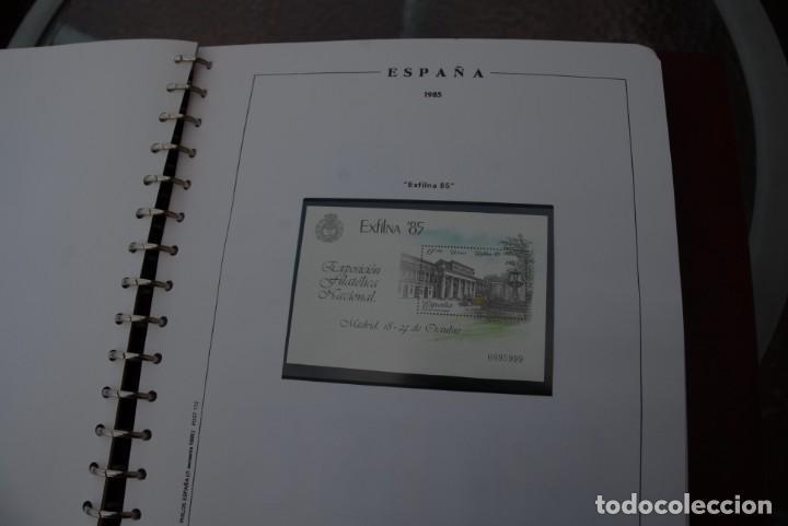 Sellos: ALBUM COLECCIÓN SELLOS ESPAÑA AÑOS 1983-1991. Hojas Philos. Nuevos. Completa. Ver fotos. - Foto 24 - 206839080