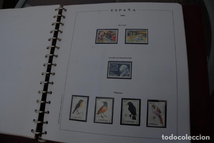 Sellos: ALBUM COLECCIÓN SELLOS ESPAÑA AÑOS 1983-1991. Hojas Philos. Nuevos. Completa. Ver fotos. - Foto 25 - 206839080