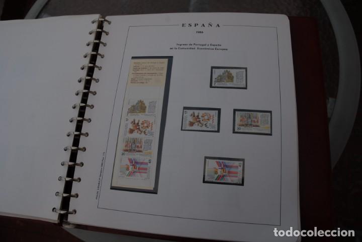 Sellos: ALBUM COLECCIÓN SELLOS ESPAÑA AÑOS 1983-1991. Hojas Philos. Nuevos. Completa. Ver fotos. - Foto 26 - 206839080