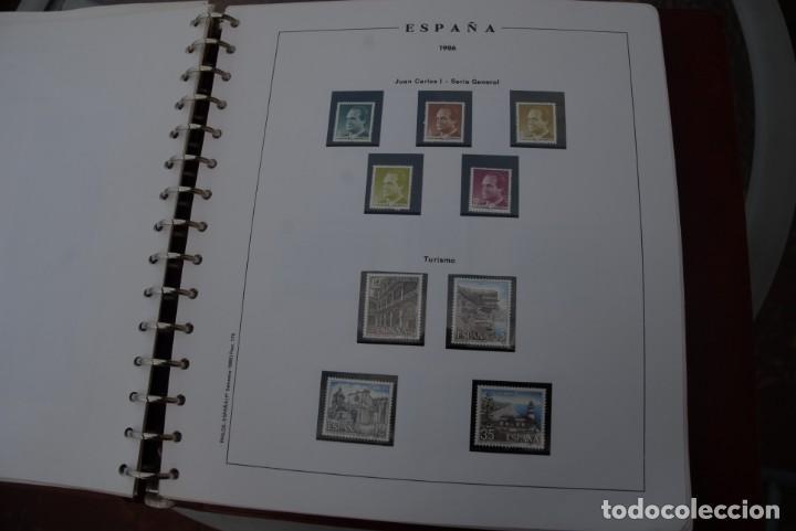 Sellos: ALBUM COLECCIÓN SELLOS ESPAÑA AÑOS 1983-1991. Hojas Philos. Nuevos. Completa. Ver fotos. - Foto 27 - 206839080