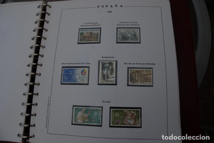 Sellos: ALBUM COLECCIÓN SELLOS ESPAÑA AÑOS 1983-1991. Hojas Philos. Nuevos. Completa. Ver fotos. - Foto 28 - 206839080