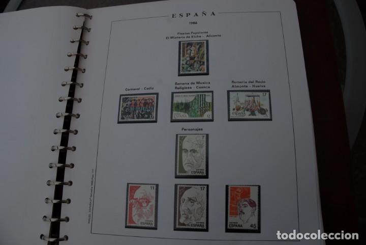 Sellos: ALBUM COLECCIÓN SELLOS ESPAÑA AÑOS 1983-1991. Hojas Philos. Nuevos. Completa. Ver fotos. - Foto 29 - 206839080