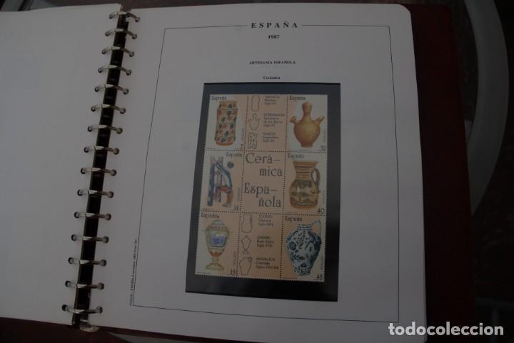 Sellos: ALBUM COLECCIÓN SELLOS ESPAÑA AÑOS 1983-1991. Hojas Philos. Nuevos. Completa. Ver fotos. - Foto 39 - 206839080