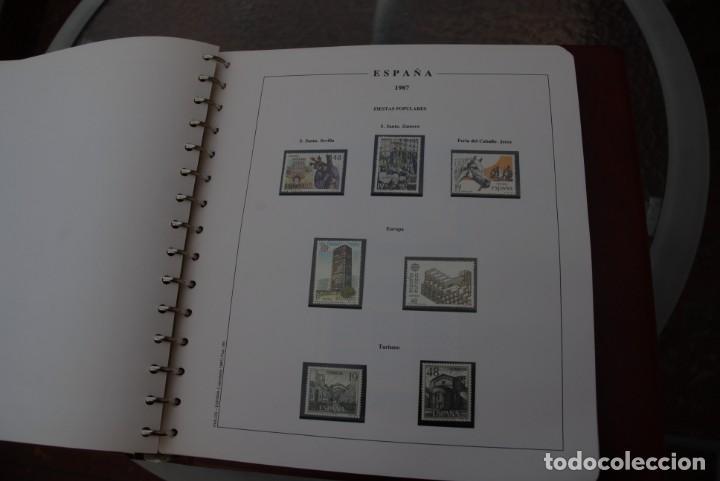 Sellos: ALBUM COLECCIÓN SELLOS ESPAÑA AÑOS 1983-1991. Hojas Philos. Nuevos. Completa. Ver fotos. - Foto 40 - 206839080