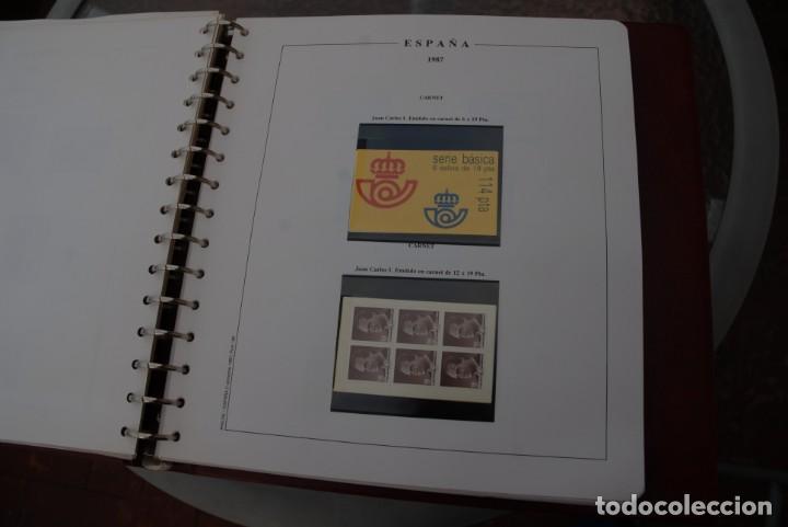 Sellos: ALBUM COLECCIÓN SELLOS ESPAÑA AÑOS 1983-1991. Hojas Philos. Nuevos. Completa. Ver fotos. - Foto 41 - 206839080