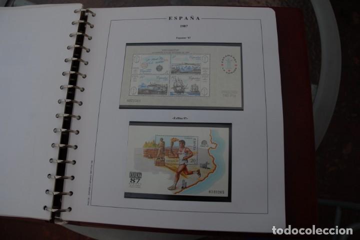 Sellos: ALBUM COLECCIÓN SELLOS ESPAÑA AÑOS 1983-1991. Hojas Philos. Nuevos. Completa. Ver fotos. - Foto 43 - 206839080