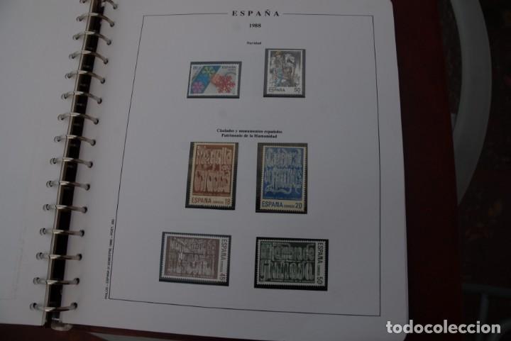 Sellos: ALBUM COLECCIÓN SELLOS ESPAÑA AÑOS 1983-1991. Hojas Philos. Nuevos. Completa. Ver fotos. - Foto 46 - 206839080