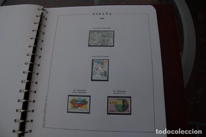 Sellos: ALBUM COLECCIÓN SELLOS ESPAÑA AÑOS 1983-1991. Hojas Philos. Nuevos. Completa. Ver fotos. - Foto 47 - 206839080
