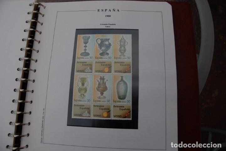 Sellos: ALBUM COLECCIÓN SELLOS ESPAÑA AÑOS 1983-1991. Hojas Philos. Nuevos. Completa. Ver fotos. - Foto 48 - 206839080