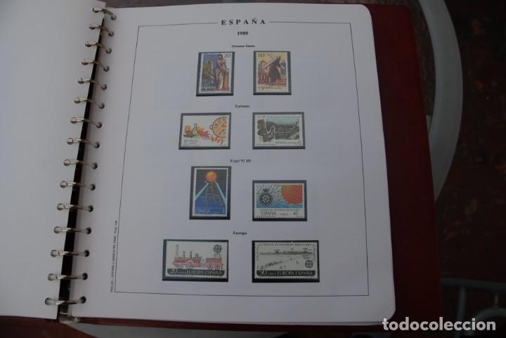 Sellos: ALBUM COLECCIÓN SELLOS ESPAÑA AÑOS 1983-1991. Hojas Philos. Nuevos. Completa. Ver fotos. - Foto 49 - 206839080