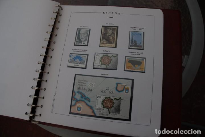 Sellos: ALBUM COLECCIÓN SELLOS ESPAÑA AÑOS 1983-1991. Hojas Philos. Nuevos. Completa. Ver fotos. - Foto 50 - 206839080
