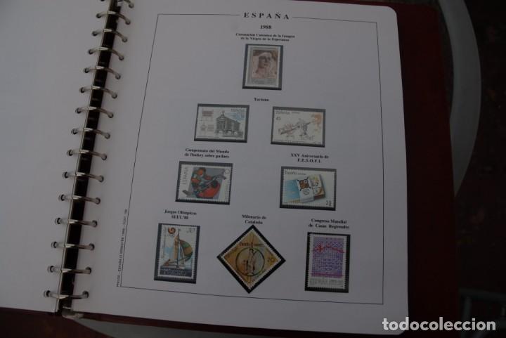 Sellos: ALBUM COLECCIÓN SELLOS ESPAÑA AÑOS 1983-1991. Hojas Philos. Nuevos. Completa. Ver fotos. - Foto 51 - 206839080