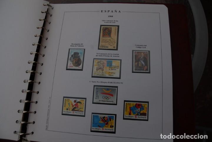 Sellos: ALBUM COLECCIÓN SELLOS ESPAÑA AÑOS 1983-1991. Hojas Philos. Nuevos. Completa. Ver fotos. - Foto 52 - 206839080