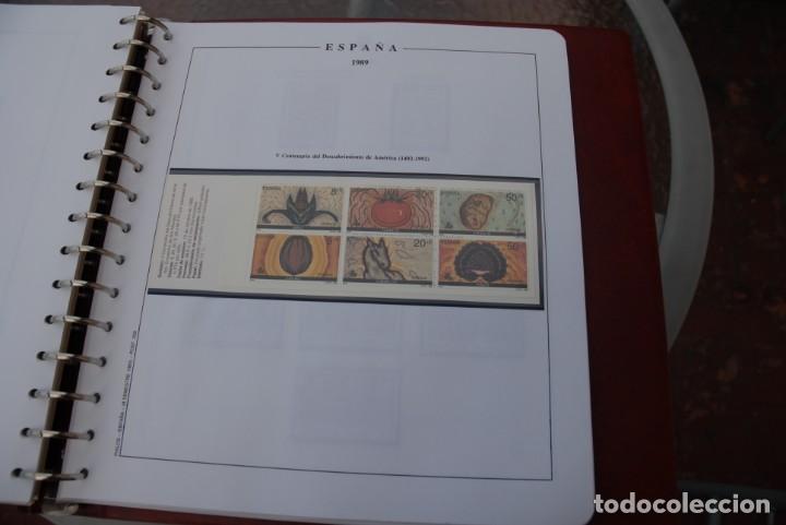 Sellos: ALBUM COLECCIÓN SELLOS ESPAÑA AÑOS 1983-1991. Hojas Philos. Nuevos. Completa. Ver fotos. - Foto 55 - 206839080