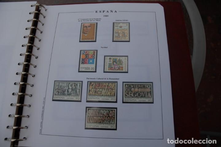 Sellos: ALBUM COLECCIÓN SELLOS ESPAÑA AÑOS 1983-1991. Hojas Philos. Nuevos. Completa. Ver fotos. - Foto 56 - 206839080
