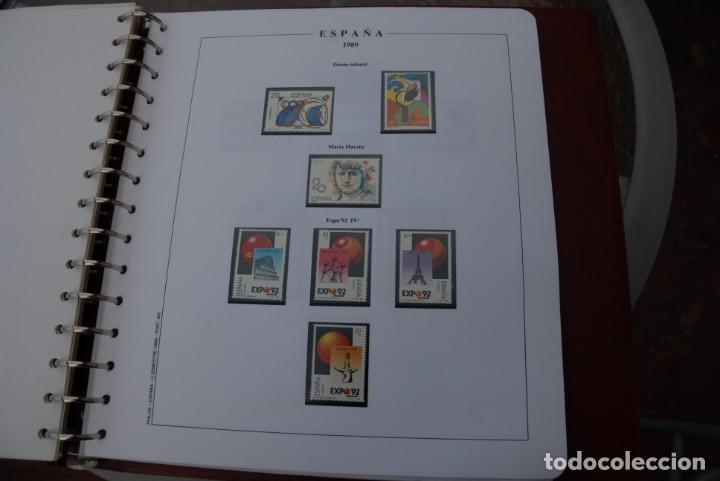 Sellos: ALBUM COLECCIÓN SELLOS ESPAÑA AÑOS 1983-1991. Hojas Philos. Nuevos. Completa. Ver fotos. - Foto 57 - 206839080