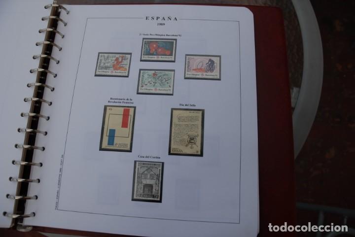 Sellos: ALBUM COLECCIÓN SELLOS ESPAÑA AÑOS 1983-1991. Hojas Philos. Nuevos. Completa. Ver fotos. - Foto 58 - 206839080