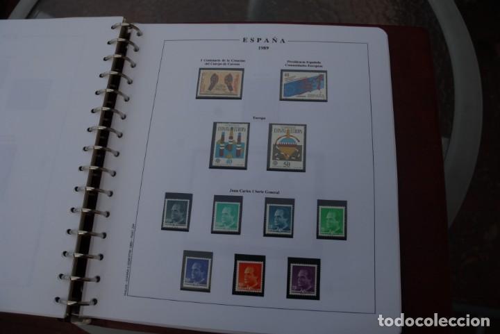 Sellos: ALBUM COLECCIÓN SELLOS ESPAÑA AÑOS 1983-1991. Hojas Philos. Nuevos. Completa. Ver fotos. - Foto 59 - 206839080