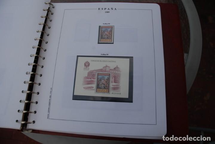 Sellos: ALBUM COLECCIÓN SELLOS ESPAÑA AÑOS 1983-1991. Hojas Philos. Nuevos. Completa. Ver fotos. - Foto 60 - 206839080