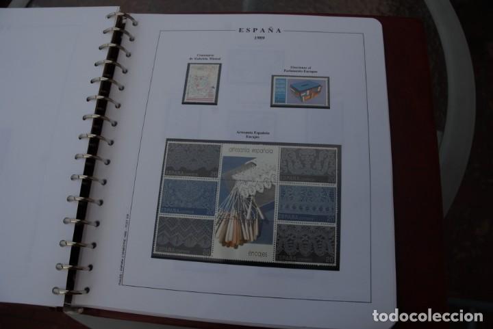 Sellos: ALBUM COLECCIÓN SELLOS ESPAÑA AÑOS 1983-1991. Hojas Philos. Nuevos. Completa. Ver fotos. - Foto 61 - 206839080