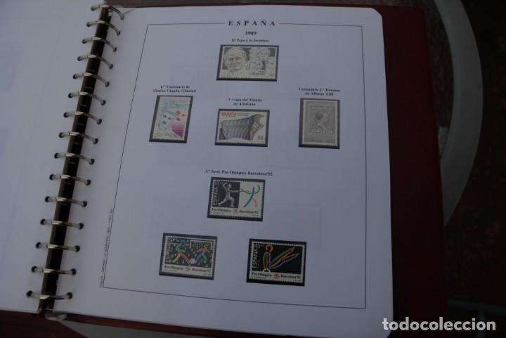 Sellos: ALBUM COLECCIÓN SELLOS ESPAÑA AÑOS 1983-1991. Hojas Philos. Nuevos. Completa. Ver fotos. - Foto 62 - 206839080