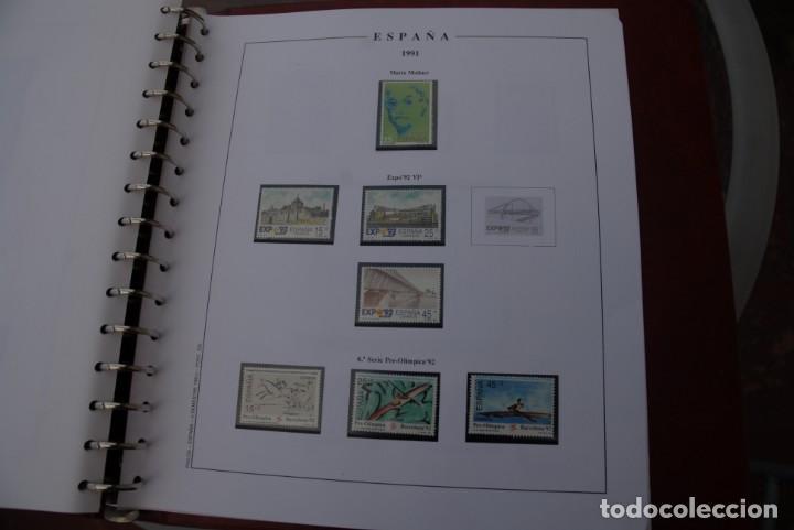 Sellos: ALBUM COLECCIÓN SELLOS ESPAÑA AÑOS 1983-1991. Hojas Philos. Nuevos. Completa. Ver fotos. - Foto 63 - 206839080