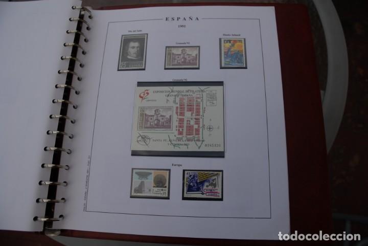Sellos: ALBUM COLECCIÓN SELLOS ESPAÑA AÑOS 1983-1991. Hojas Philos. Nuevos. Completa. Ver fotos. - Foto 64 - 206839080