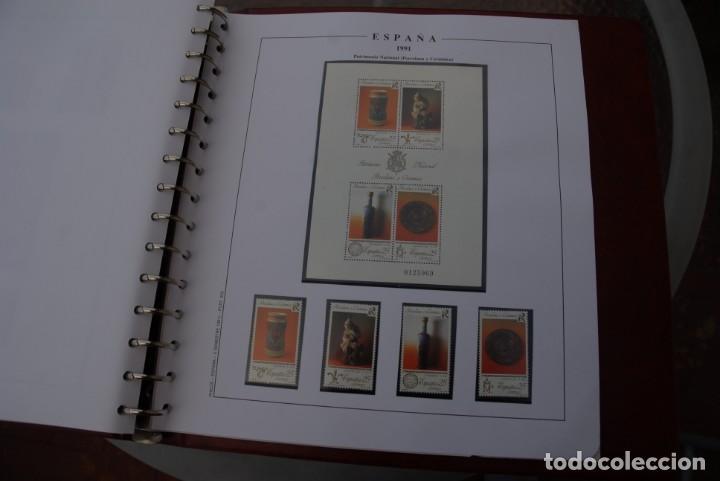 Sellos: ALBUM COLECCIÓN SELLOS ESPAÑA AÑOS 1983-1991. Hojas Philos. Nuevos. Completa. Ver fotos. - Foto 65 - 206839080