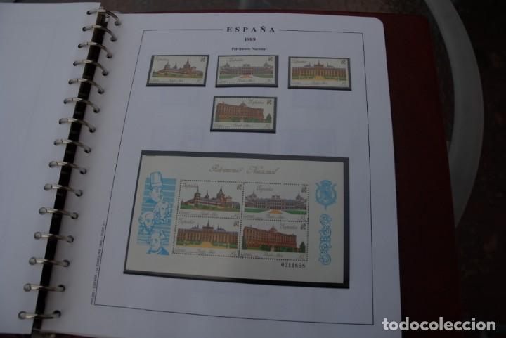 Sellos: ALBUM COLECCIÓN SELLOS ESPAÑA AÑOS 1983-1991. Hojas Philos. Nuevos. Completa. Ver fotos. - Foto 66 - 206839080