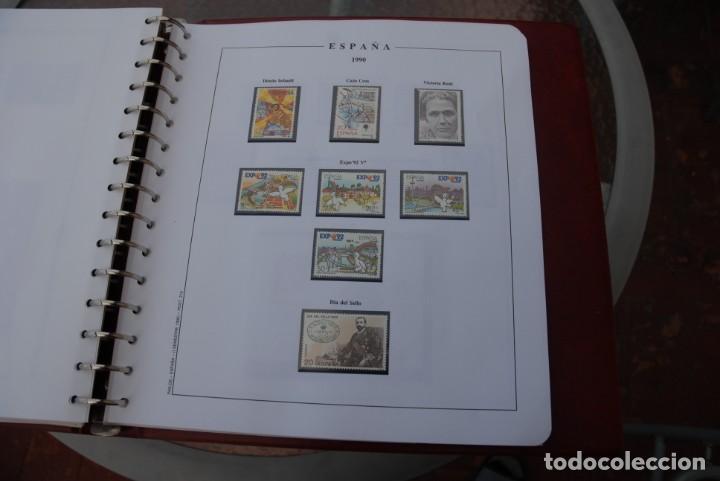 Sellos: ALBUM COLECCIÓN SELLOS ESPAÑA AÑOS 1983-1991. Hojas Philos. Nuevos. Completa. Ver fotos. - Foto 67 - 206839080