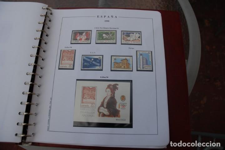 Sellos: ALBUM COLECCIÓN SELLOS ESPAÑA AÑOS 1983-1991. Hojas Philos. Nuevos. Completa. Ver fotos. - Foto 68 - 206839080