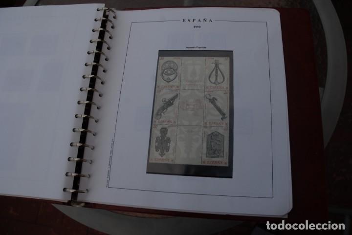 Sellos: ALBUM COLECCIÓN SELLOS ESPAÑA AÑOS 1983-1991. Hojas Philos. Nuevos. Completa. Ver fotos. - Foto 69 - 206839080