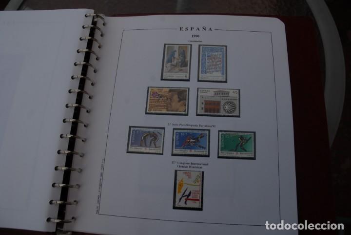 Sellos: ALBUM COLECCIÓN SELLOS ESPAÑA AÑOS 1983-1991. Hojas Philos. Nuevos. Completa. Ver fotos. - Foto 70 - 206839080