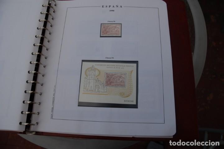 Sellos: ALBUM COLECCIÓN SELLOS ESPAÑA AÑOS 1983-1991. Hojas Philos. Nuevos. Completa. Ver fotos. - Foto 71 - 206839080