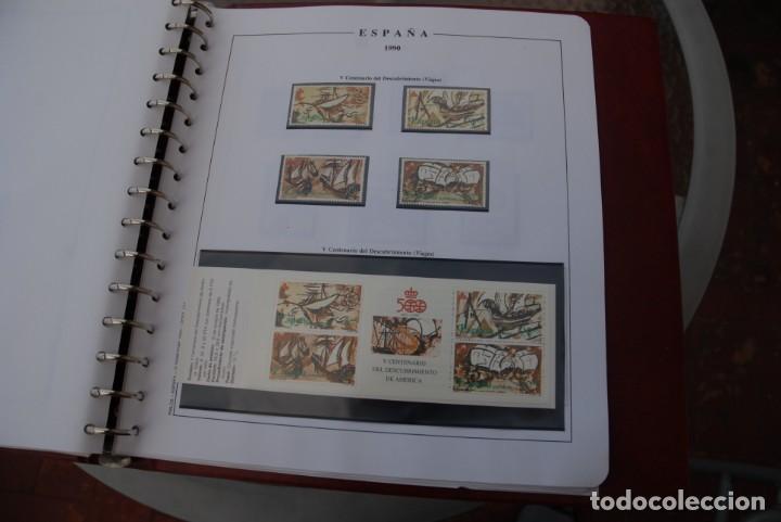 Sellos: ALBUM COLECCIÓN SELLOS ESPAÑA AÑOS 1983-1991. Hojas Philos. Nuevos. Completa. Ver fotos. - Foto 72 - 206839080